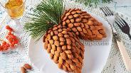 Фото рецепта Салат «Сосновая шишка»