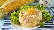 Фото рецепта Салат из свежей кукурузы