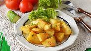 Фото рецепта Картофель варено-жареный
