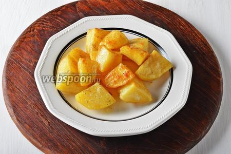 Картофель варено-жареный