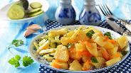 Фото рецепта Картошка тушёная в рукаве