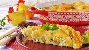 Фото рецепта Картошка с яйцом в духовке