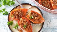 Фото рецепта Перец фаршированный гречкой