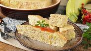 Фото рецепта Суфле из кабачков с курицей