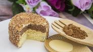 Фото рецепта Шоколадно-ванильные пирожные «Ёжики»