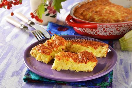 Суфле из кабачков с сыром