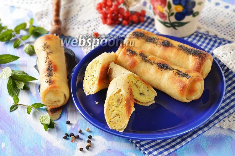 Фото Постные пирожки с картошкой