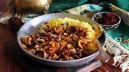 Фото рецепта Говядина с луком и барбарисом
