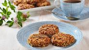 Фото рецепта Кунжутное печенье без муки