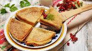 Фото рецепта Тонкие блины с дырочками