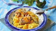 Фото рецепта Тушёные индюшиные шеи с картофелем