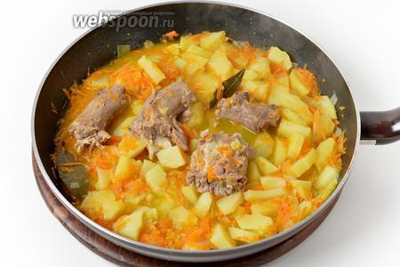 В конце приправить чёрным молотым перцем (1 грамм). Блюдо готово к подаче.