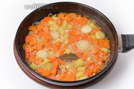 Перед подачей посыпать блюдо чёрным молотым перцем (0,25 ч. л.).
