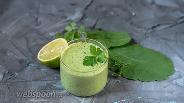 Фото рецепта Постный зелёный соус а-ля майонез