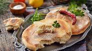 Фото рецепта Грузинский лаваш на сковороде