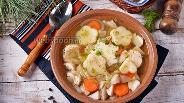 Фото рецепта Суп из замороженных белых грибов