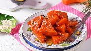 Фото рецепта Карамелизованная тыква