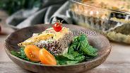 Фото рецепта Картофельное «облако» с сочной мясной начинкой и сыром