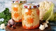 Фото рецепта Маринованная цветная капуста на зиму