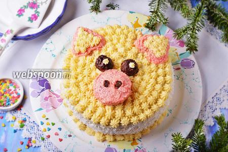 Торт «Свинья»