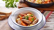 Фото рецепта Куриные шейки с картошкой