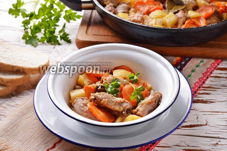 Фото Куриные шейки с картошкой