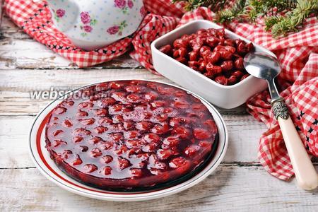 Вишнёвое компоте для торта