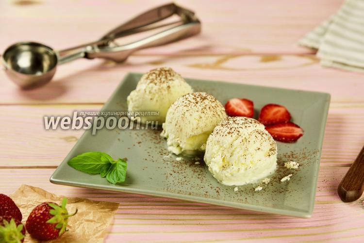 Фото Домашнее мороженое пломбир