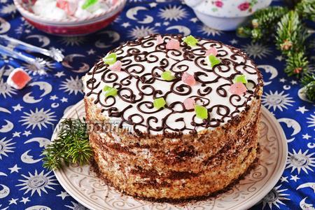 Торт «Арабская ночь»