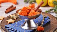 Фото рецепта Тыква в духовке кусочками с яблоками