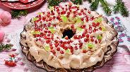 Фото рецепта Торт «Новогодний венок»
