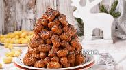 Фото рецепта Муравейник из кукурузных палочек
