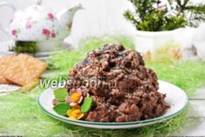 Торт «Муравейник» из печенья без сгущёнки