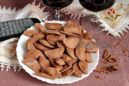 Льняные чипсы