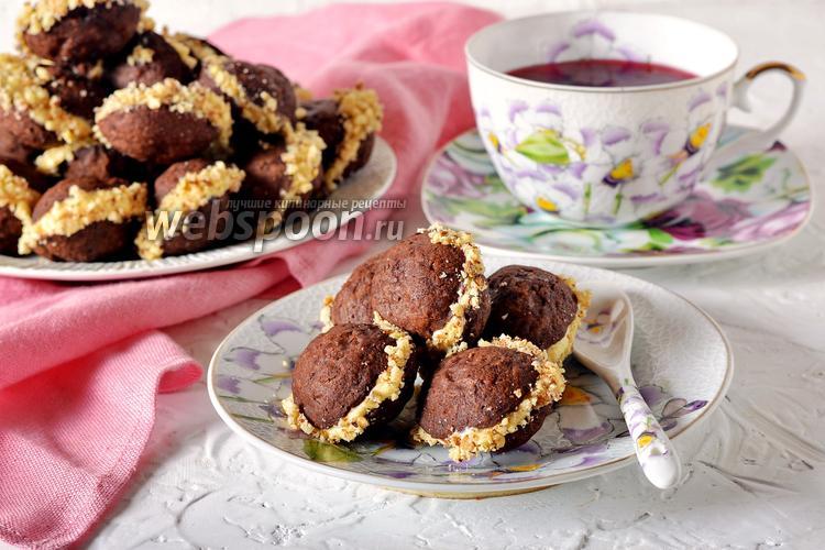 Фото Шоколадные орешки