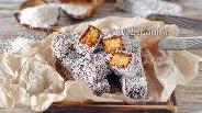 Фото рецепта Кокосовые палочки