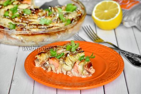 Рыбная запеканка по рецепту Джейми Оливера