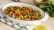 Фото рецепта Пёстрый салат с нутом