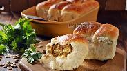 Фото рецепта Постные пирожки с чечевицей