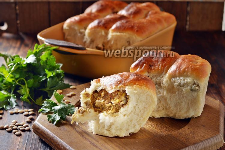 Фото Постные пирожки с чечевицей