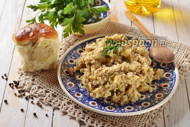 Рецепт Начинка для пирожков с мясом и картошкой