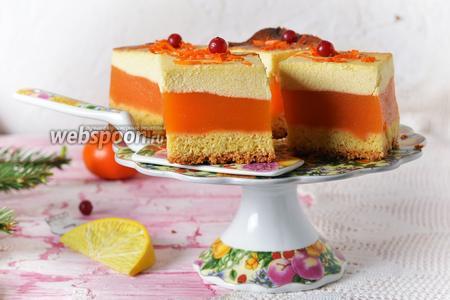 Апельсиновый сырник