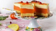 Фото рецепта Апельсиновый сырник