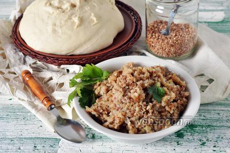 Начинка из гречки для пирожков