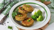 Фото рецепта Котлеты из брокколи в духовке
