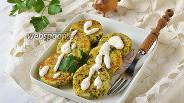 Фото рецепта Сырники со шпинатом