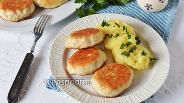 Фото рецепта Котлеты из индейки с тёртым картофелем