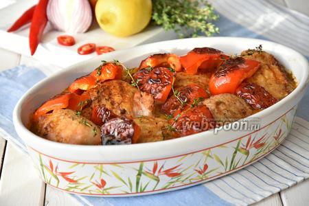 Куриные бедра в соусе Пири-пири от Джейми Оливера