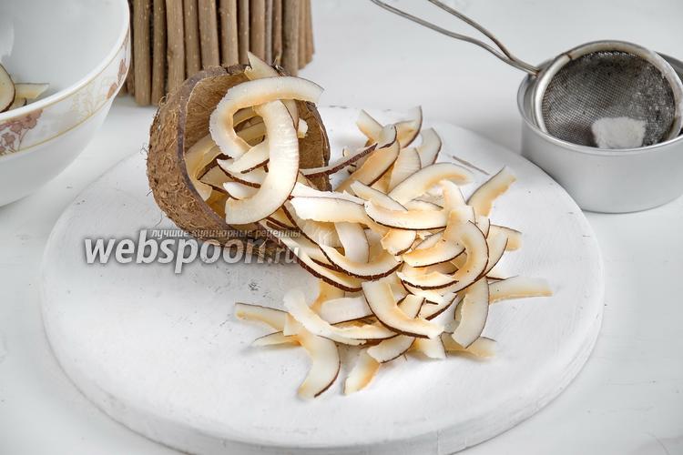 Фото Кокосовые чипсы