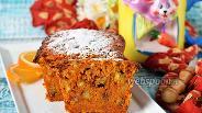 Фото рецепта Морковный кекс без яиц